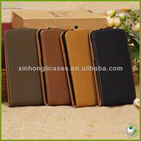 Flip leather case cover for iphone 5C