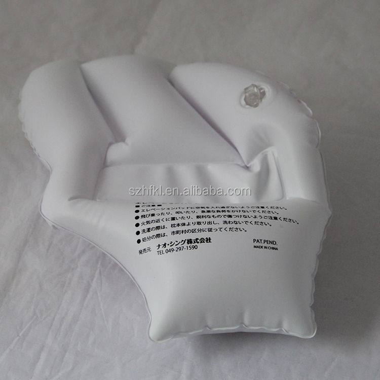 customized white popular pvc inflatable hand as giveaway