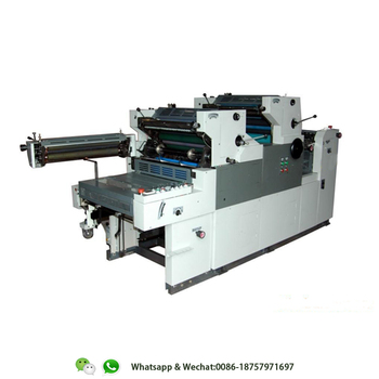 HL247IINP Two color offset printing machine / two colors offset press machine with number printing function