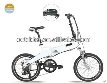 ORT F8120 20'' folding electric bike