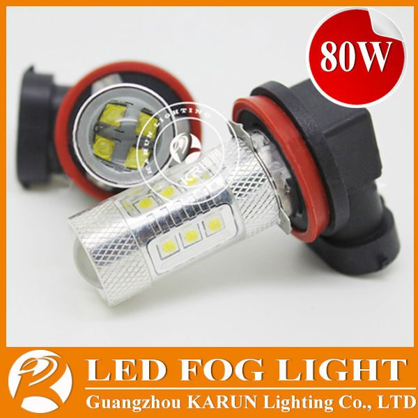 Best quality high power led light 12V 24V Cree 80W automotive led bulbs H11