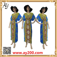 Wholesale New Model Abaya Beautiful African Printing Abaya