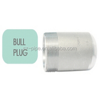 Forged Threaded Round Head male astm a105 forged bull plug