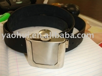 buckle with hip flask