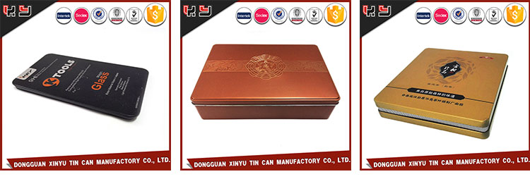 Promotion All Size Colourful XINYU Metal Boxes Mini Tin Box