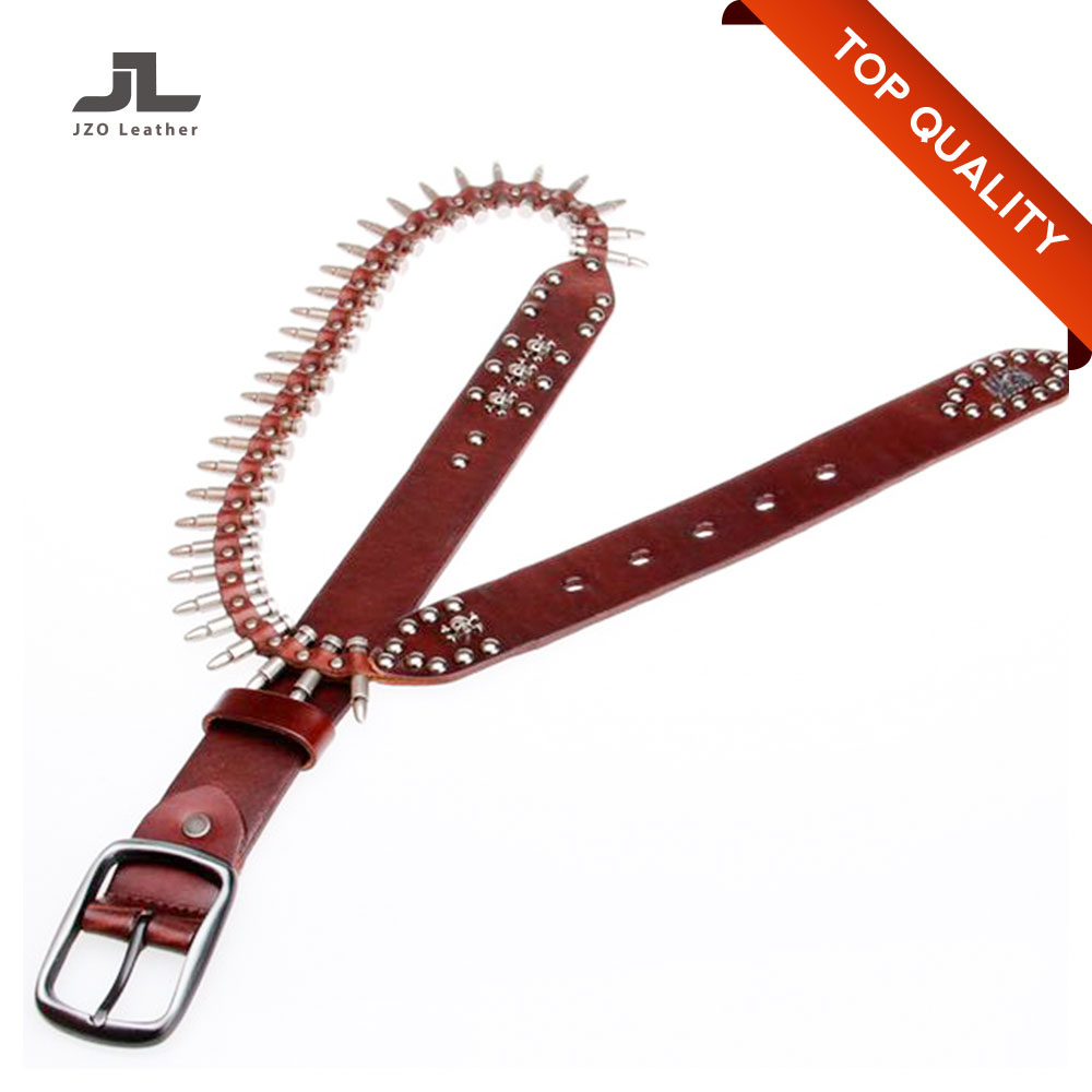 2017 Fashion Top Quality Leather Studded Custom Desiger Belts Woman