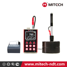 Mitech intelligent MH660 intelligent portable leeb rockwell brinell NDT hardness tester with upgraded profile and best quality