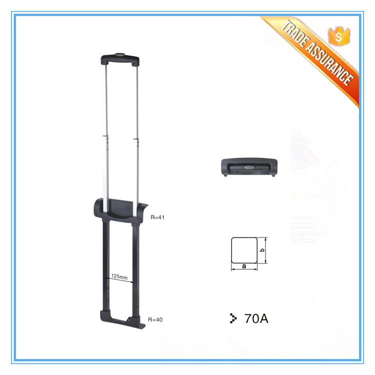 All Size Luggage Retractable Trolley Spare Parts for Suitcase