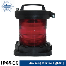 Industrial outdoor Waterproof Stern Red aquarium sailing boat dinghy ships yacht Fishing Signal Navigation led marine Light