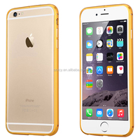 Alibaba wholesale China factory UK makket cheap Aviation Aluminum metal bumper mobile phone case for iPhone 6