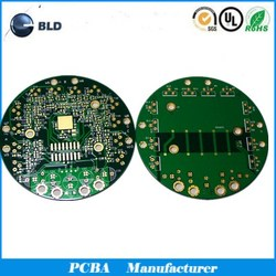High quality FR4 immersion gold 2 layer PCB assembly design