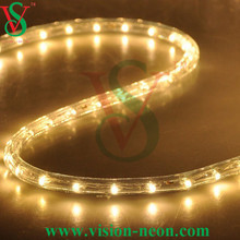 3 Wire 13mm color chasing LED rope light with 8 color effect funtions