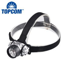 7leds High Power 1000 Lumen LED Headlamp Flashlight For Jogging