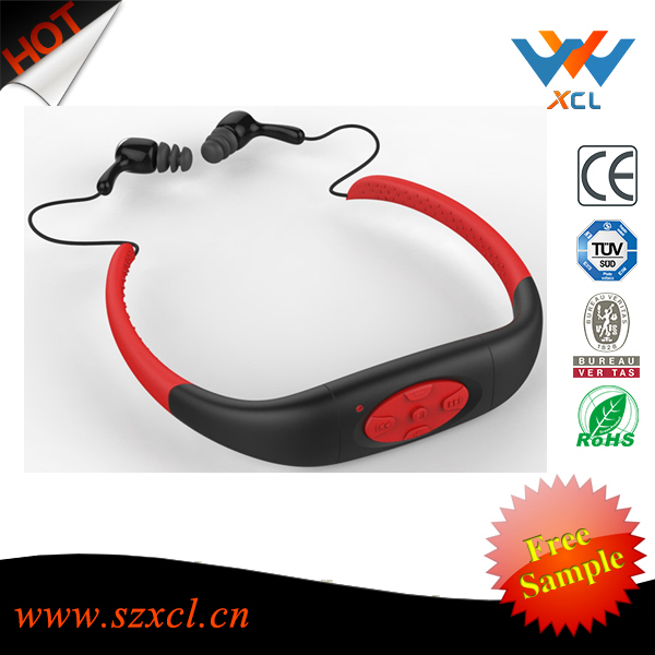 Factrory super professional swimming waterproof sport <strong>mp3</strong>