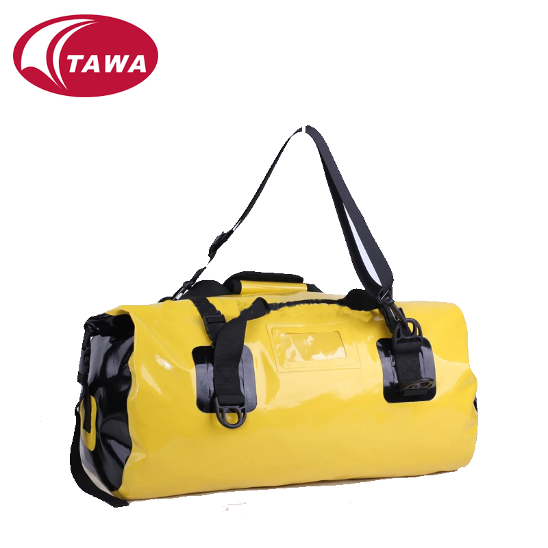 pretty waterproof travel bag with shoulder strap