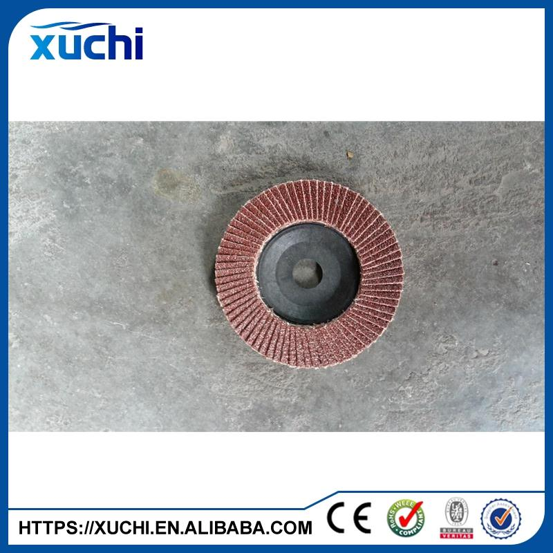 100x16mm 4 inch abrasive flap disc Ultra fast quality flexible flap disc