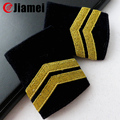 Factory OEM/ODM Officer Shoulder Boards airline pilot epaulette for uniform