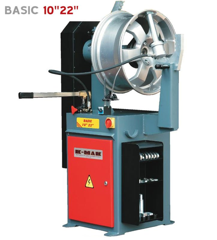 "BASIC-A 10""-24"" MANUAL HYDRAULIC RIM REPAIR MACHINE"