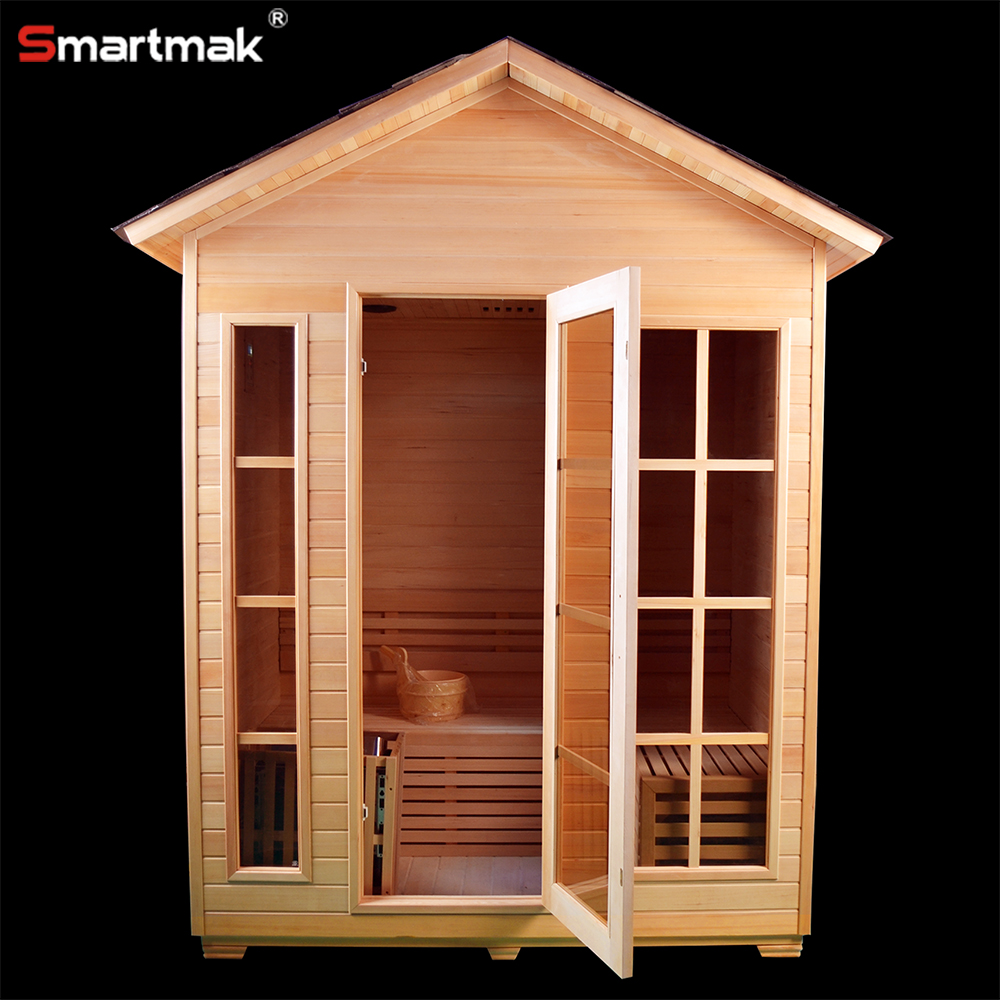 Garden use ozone steam sauna cabin for sale