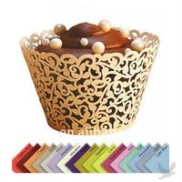 laser cut Lace styled cupcake wrappers
