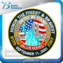 Statue of Liberty Embroidered Flag Patches