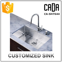 kitchens with high quality single undermount customized used kitchen sinks for sale