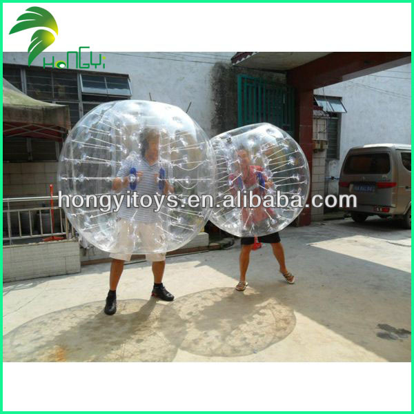New Type Top Selling Inflatable Funny Body Bumper Ball