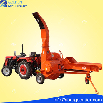 15Hp Tractor Mounted 6Ton 4 Blades Forage Cutter Machine With Low Price