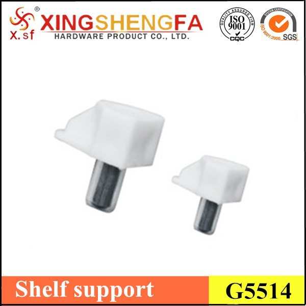 Plastic cabinet self support,Hot sell Furniture shelf support pins G5514