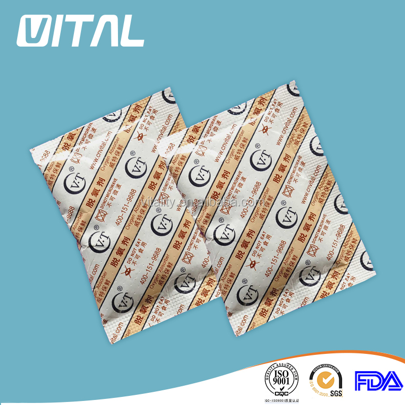 Food grade physical preservative 1000cc oxygen absorber for potato chip