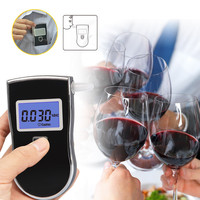 Advanced semiconductor oxide alcohol sensor at-818 lcd alcohol tester