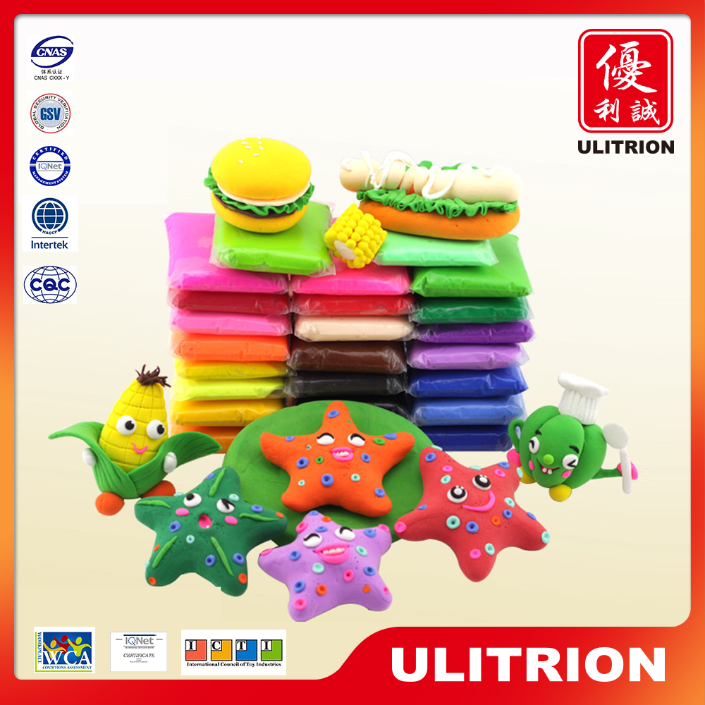 Hot clay kids toy, plasticine clay colorful for clever kids cb407848