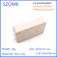 plastic enclosure for electronic device industrial case