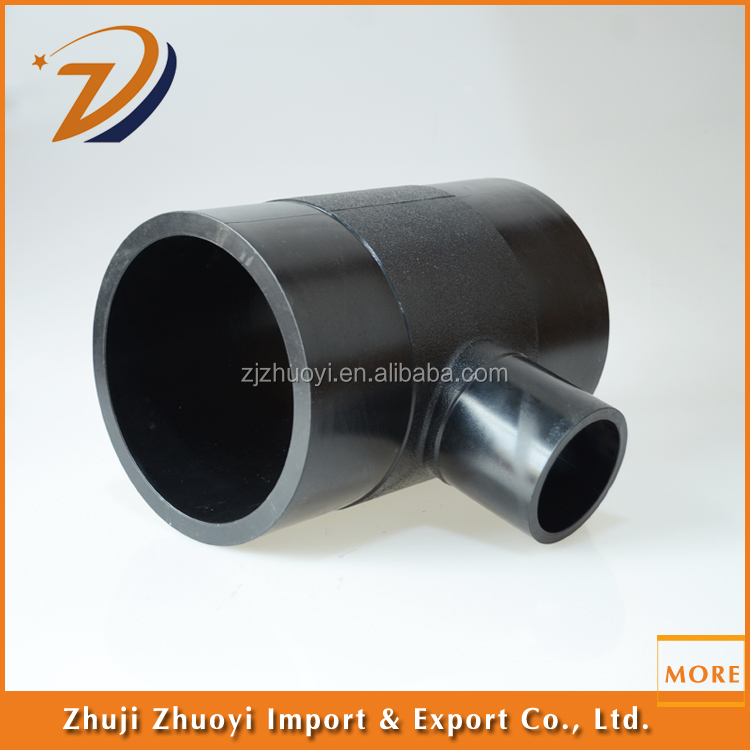 Hdpe 100 tee tube tee plastic pipe and water tube tee for Buy plastic pipe