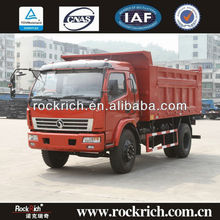 Export 8 ton/10 ton dump truck with Cummins 140hp to South America
