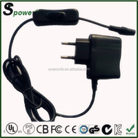 New arrival 5v 1a power supply 5w power supplier for tablet pc