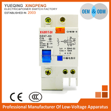 Residual Current Circuit Breaker,RCCB,ELCB,1 pole 16amp 230v 4ka,DZ47LE from Chinese factory