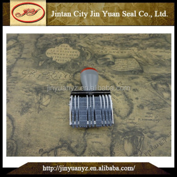 China wholesale high quality date stamp foil printing