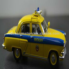 OEM 1:43 resin police car model collection