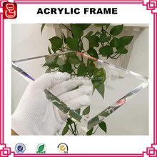 Acrylic picture frames wall panel