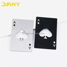 Creative Poker Card Beer Bottle Opener Personalized Funny Stainless Steel Credit Card Bottle Opener of Spades Bar Tool