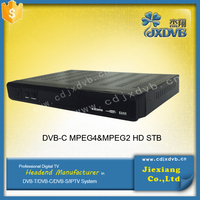 Singapore Fully DVB-C /MPEG-4/MPEG-2 TV set top box/dvb-c usb tv tuner