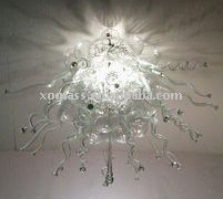 hand blown glass art ceiling lamp xo-2011606 and crystal ceiling lamp