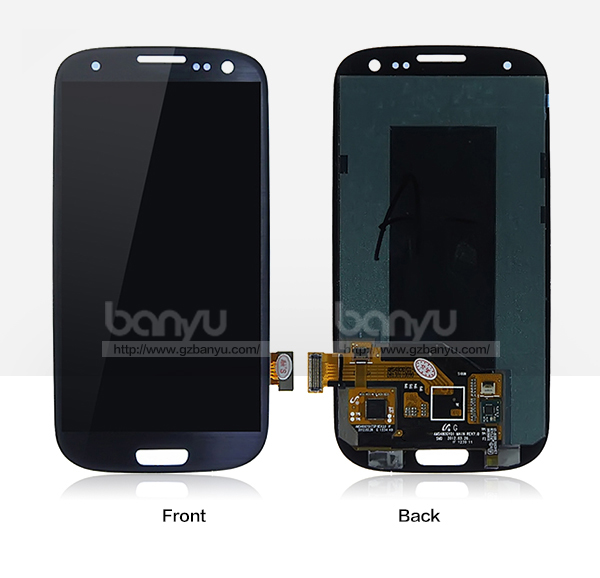 Cell phone good quality lcd screen replacement for galaxy s3 touch panel
