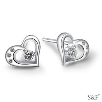MLE97 Jewelry 2014 newest design fashion silver earring