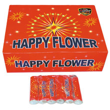 Import china fireworks happy flower all red package spinner cracker small bang party fireworks