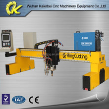 Reduce Gas Exhausts Industrial CNC Plasma Cutter Gantry