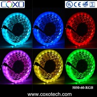 Under Cabinet UL Listed SMD 5050 Outdoor Waterproof Multicolor Led Rope Light