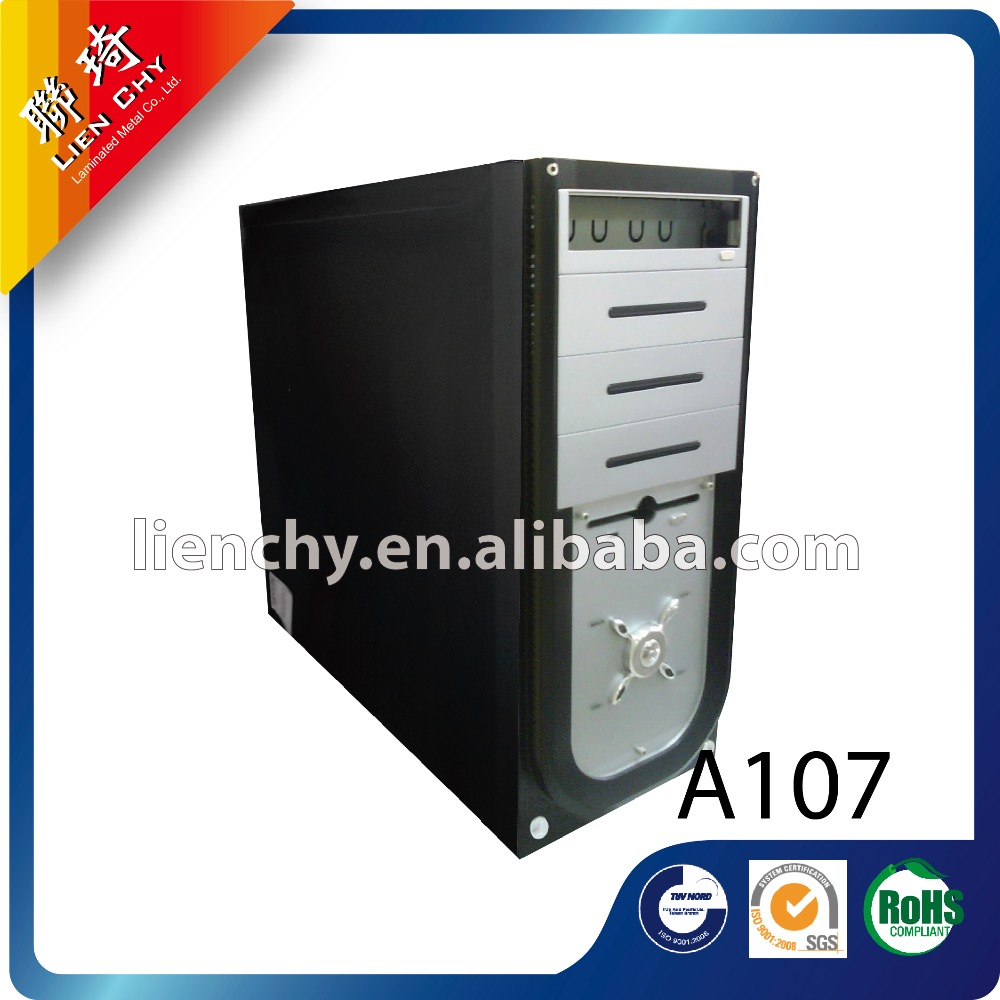 A107 Fine Grain Black cold rolled coil laminated steel sheet for computer case