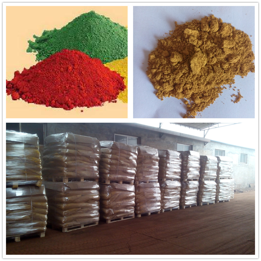 Selling purity 95% nano iron oxide pigments for cement colorant/ceramic powder/rubber tile
